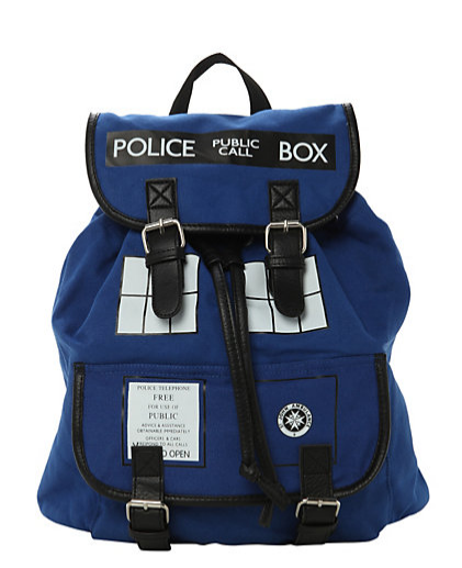 Tardis Backpack-NRoH
