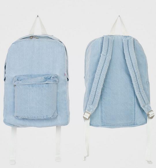 Denim Backpack-NRoH