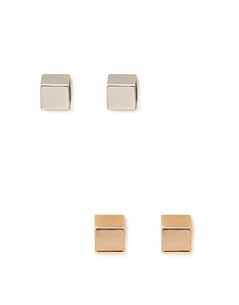 cube earrings nroh