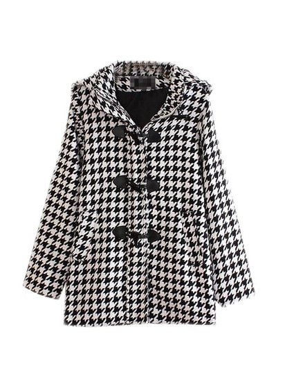 houndstooth coat nroh