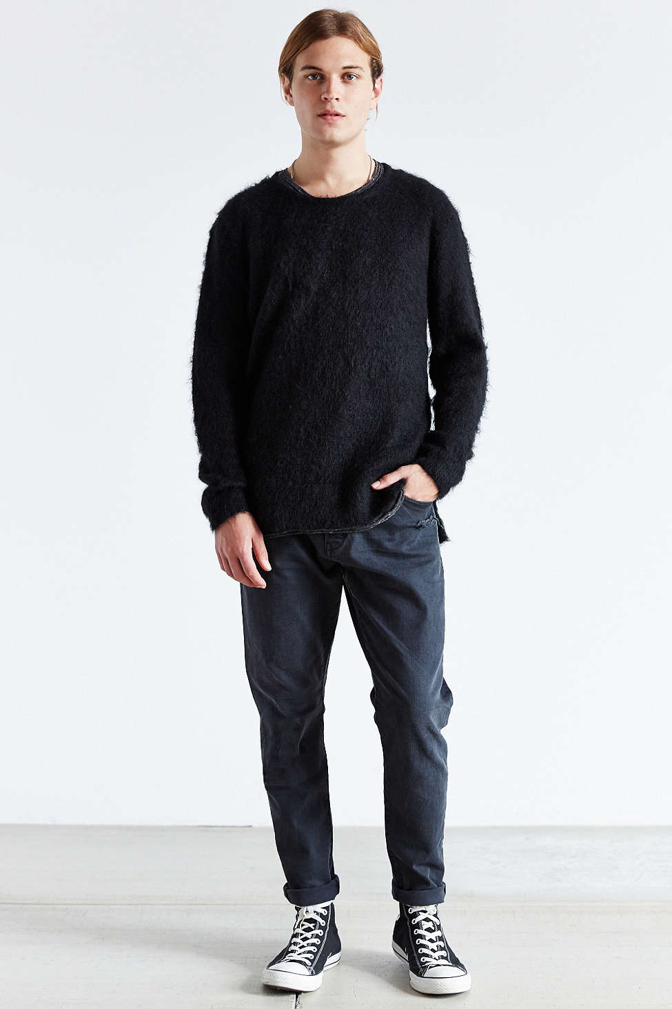 uo mohair sweater mens