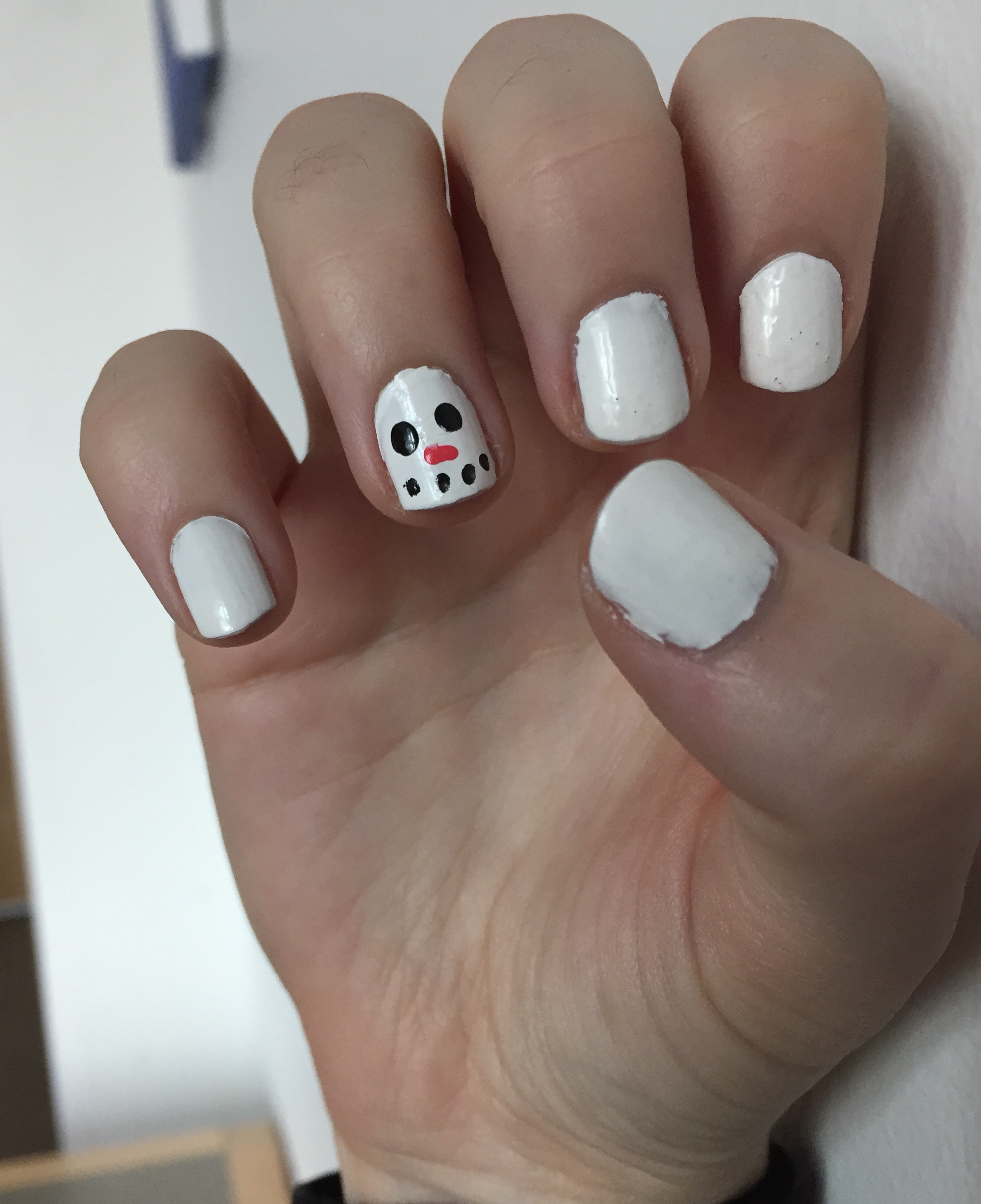 Winter Nail Art - No Repeats or Hesitations