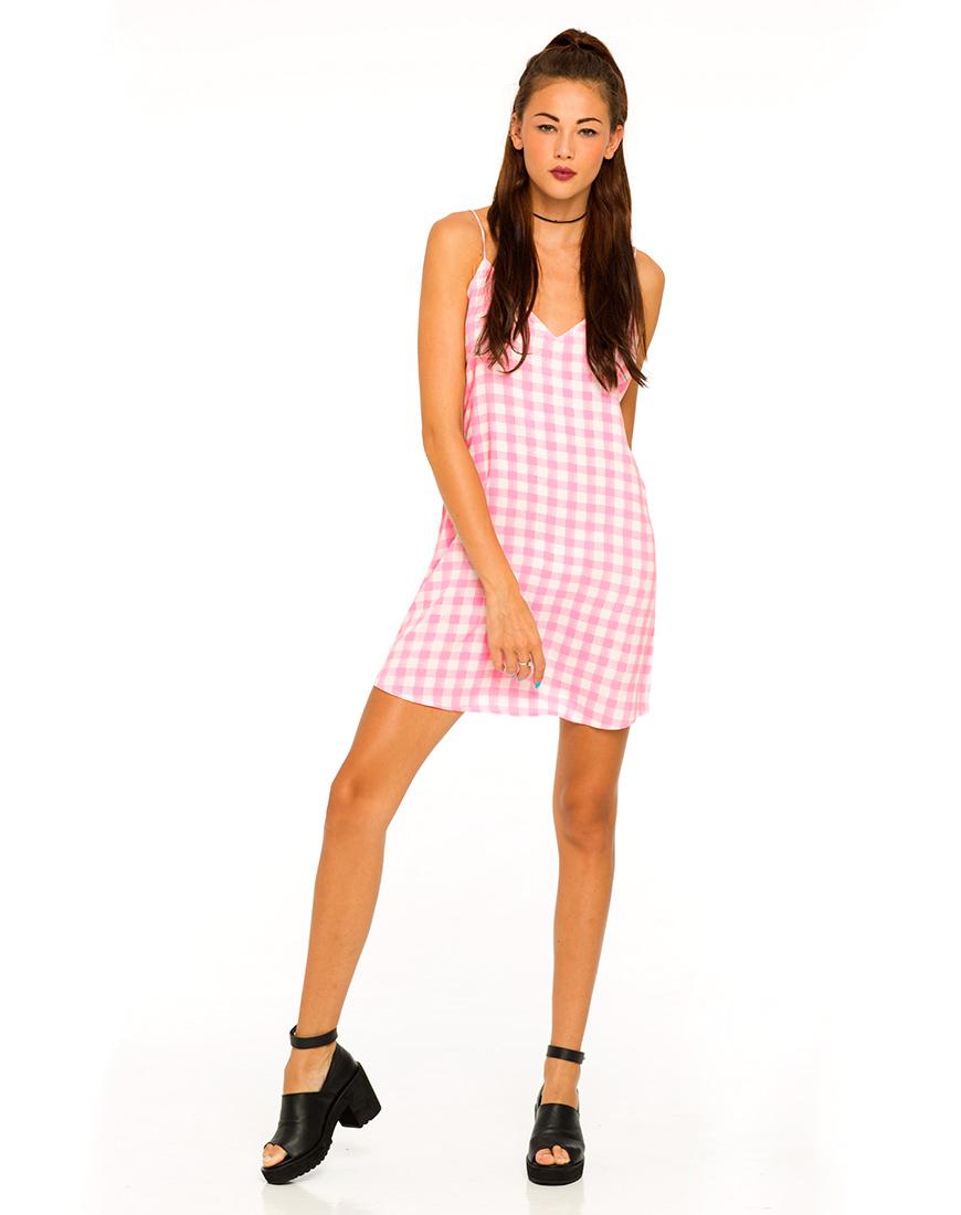 gingham dress nroh