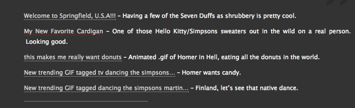 Dead Homer Society feature