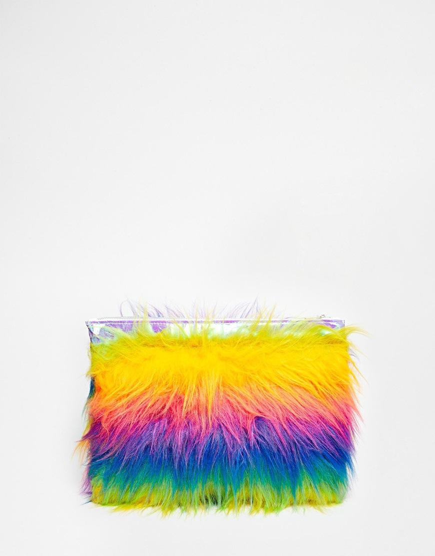 nroh rainbow clutch 1