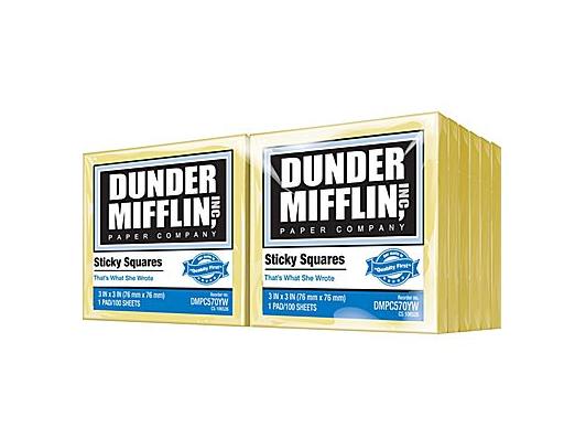 Dunder Mifflin stickies nroh