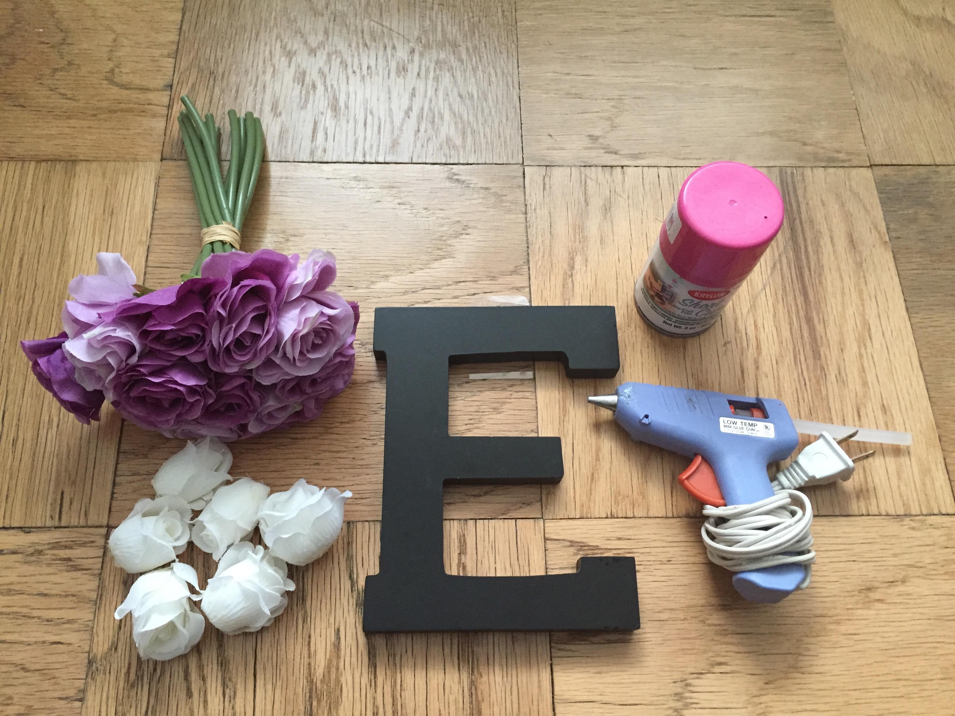 Flower Letter DIY