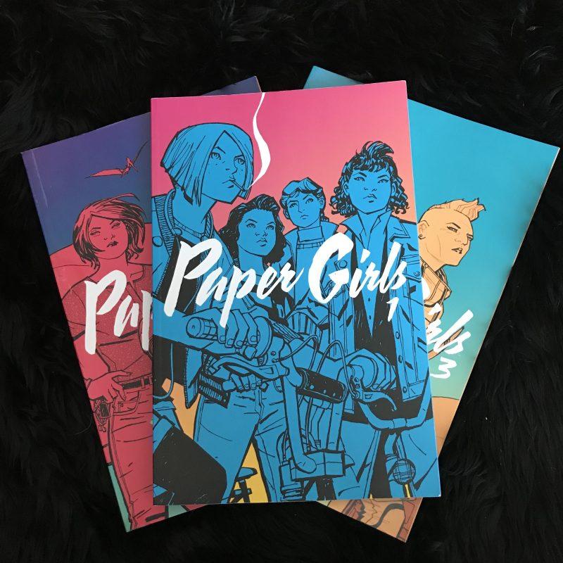 Paper Girls Stranger Things NRoH