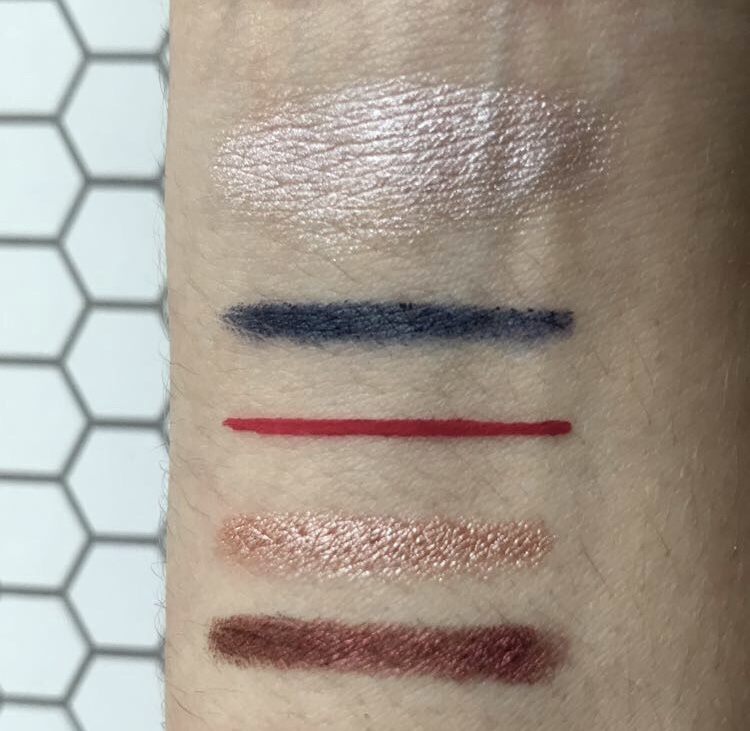 swatches nyx cosmetics