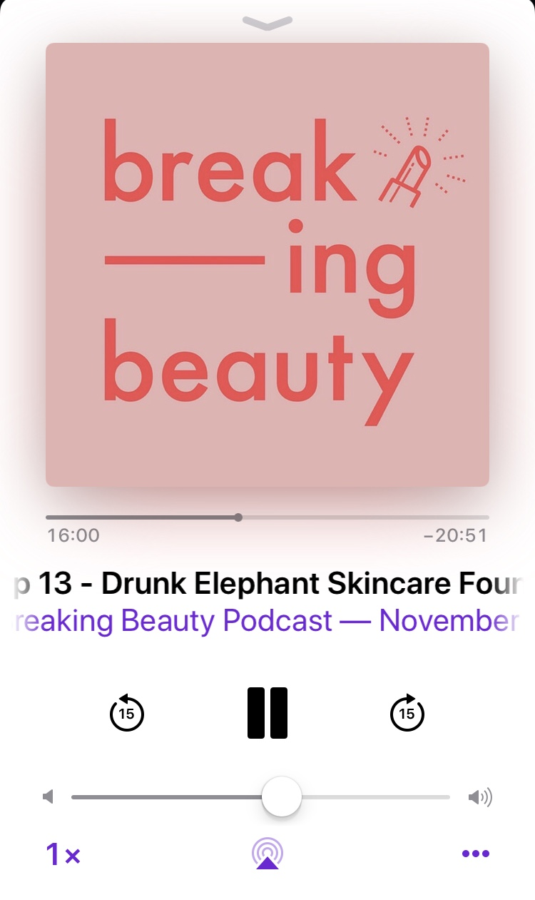 no repeats or hesitations best fashion beauty podcast