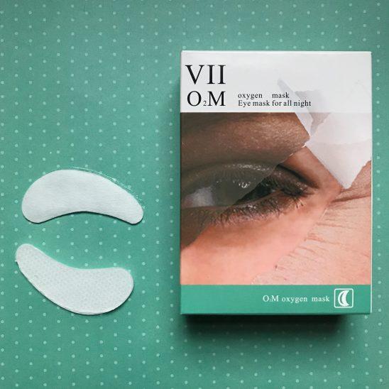 VIIcode oxygen eye mask no repeats or hesitations