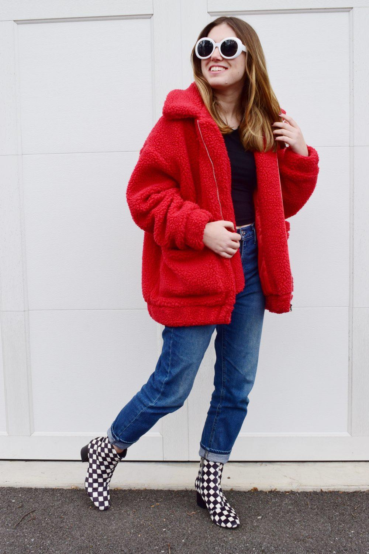 how to style a teddy bear coat