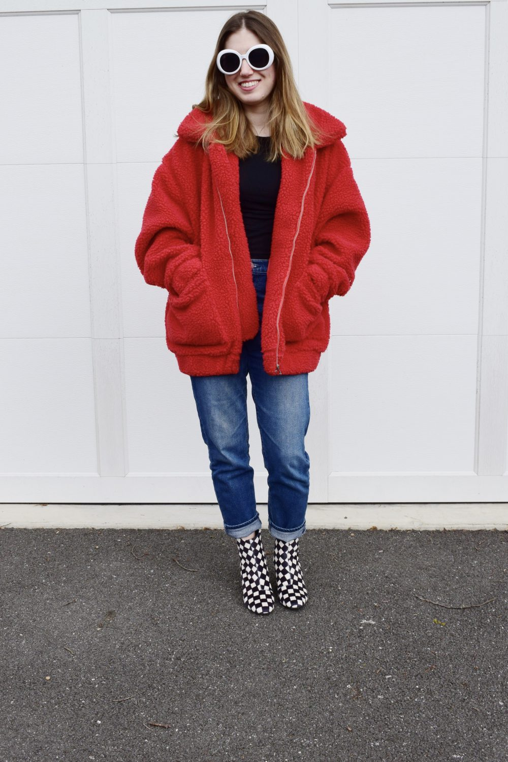 how to style a teddy bear coat no repeats or hesitations