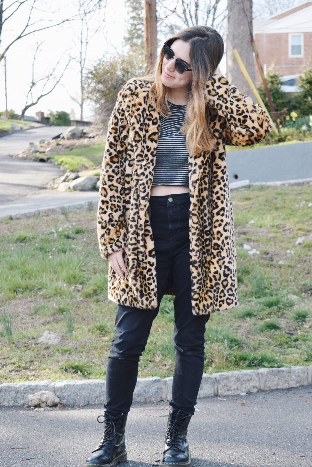 stripes with leopard print