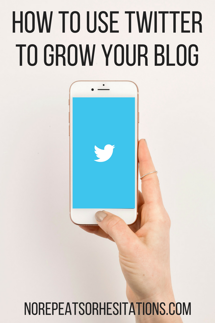 how to use twitter as a blogger