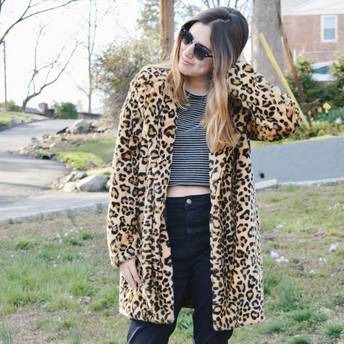 leopard coat no repeats or hesitations top 5 purchases I made in april
