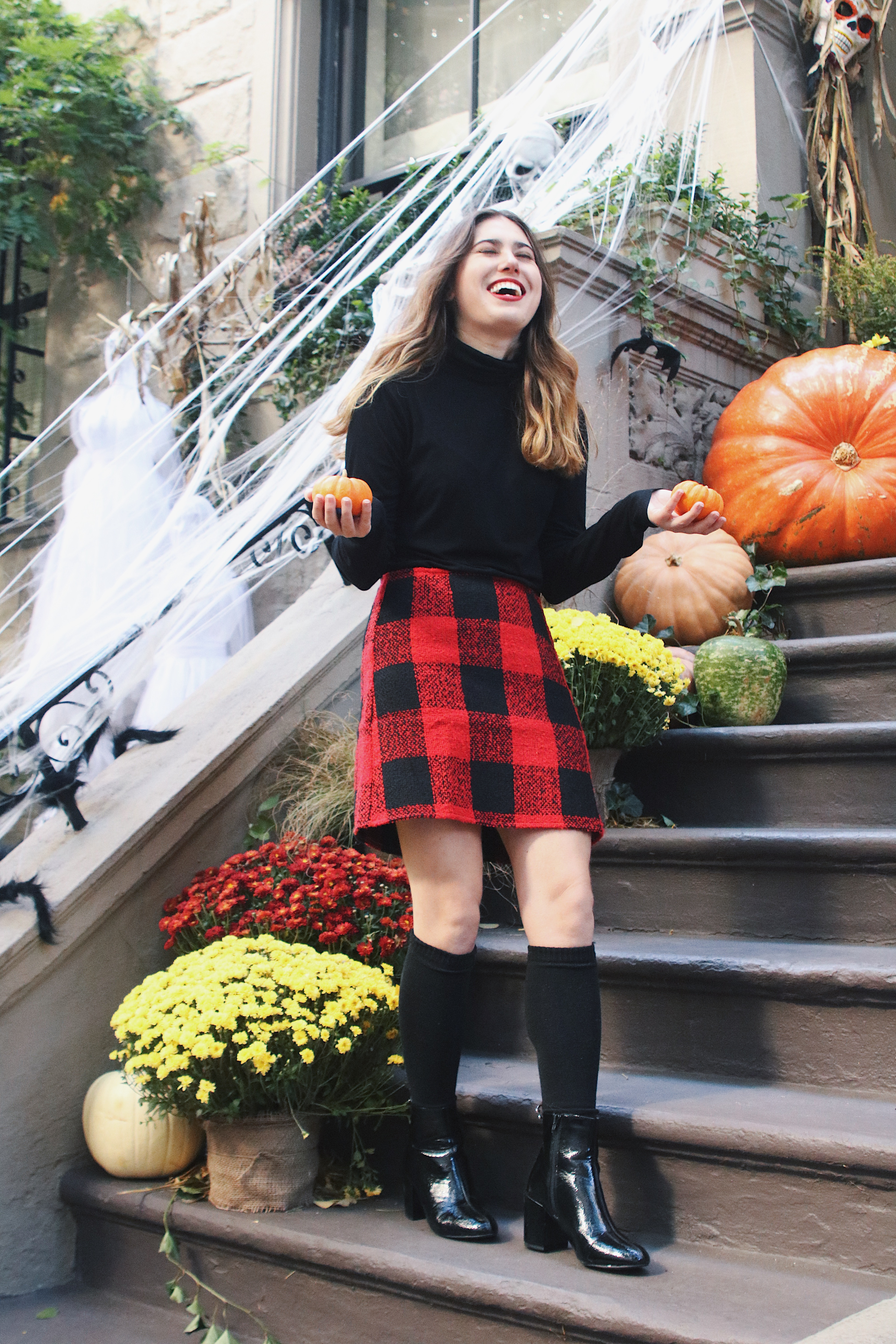 plaid skirts for fall under $50