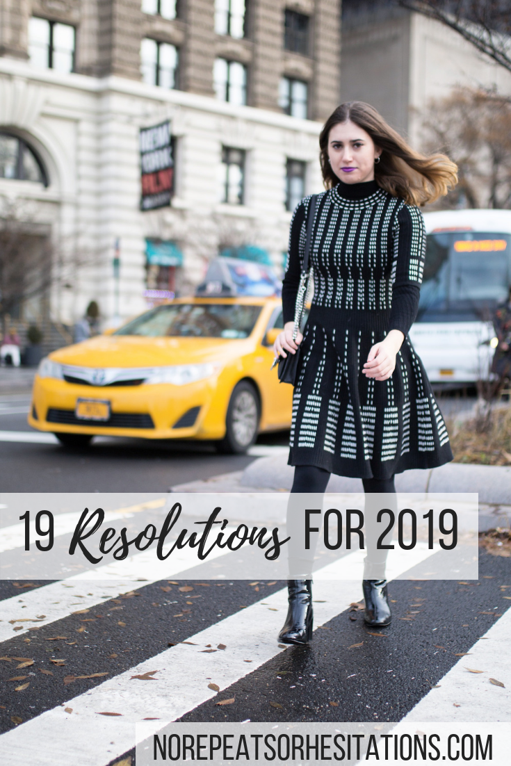 19 resolutions for 2019 P